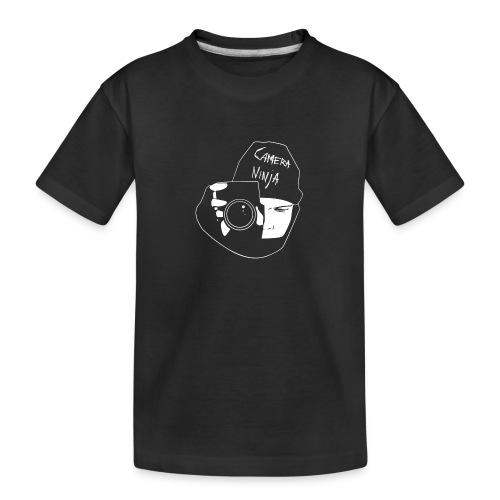 Camera Ninja Reversed - Teenager Premium Organic T-Shirt
