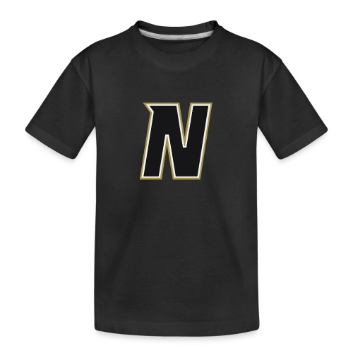 Nordic Steel Black N - Teenager Premium Organic T-Shirt
