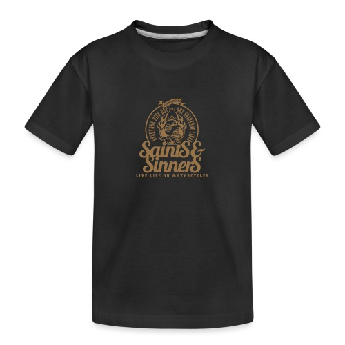 Kabes Saints & Sinners - Teenager Premium Organic T-Shirt
