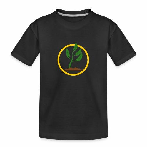 Setzlingemblem - Teenager Premium Bio T-Shirt
