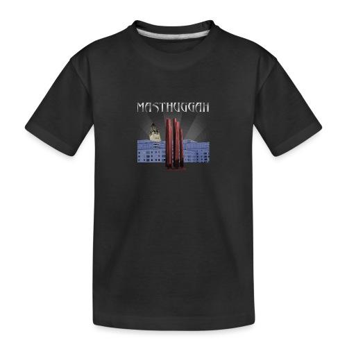 Masthuggah master, kyrka och terass - Ekologisk premium-T-shirt tonåring