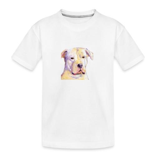 dogo argentino - Teenager premium T-shirt økologisk