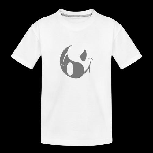 smiley yin yang - Teenager Premium Organic T-Shirt