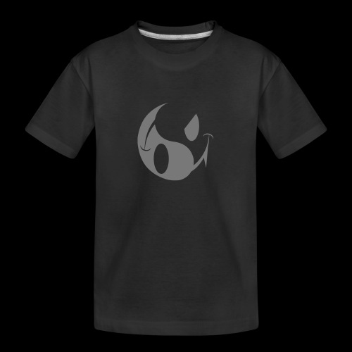smiley yin yang - Teenager Premium Organic T-Shirt