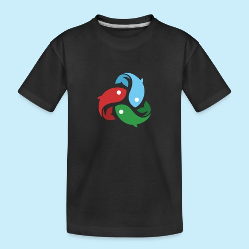 De fiskede fisk - Teenager premium T-shirt økologisk