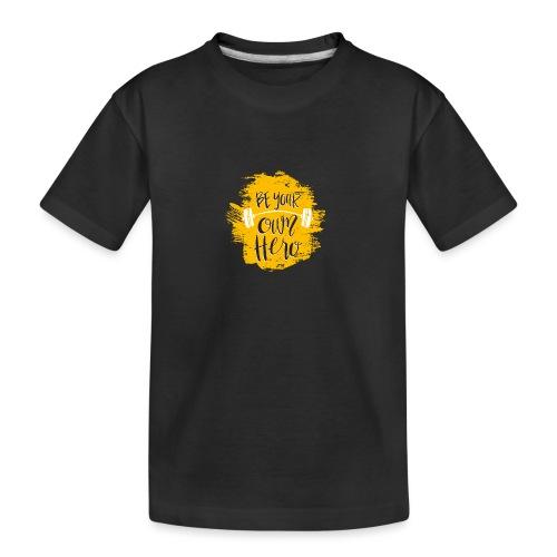 GYM Hero - Teinien premium luomu-t-paita