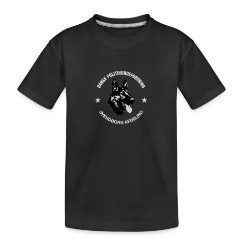 Svendborg PH hvid skrift - Teenager premium T-shirt økologisk