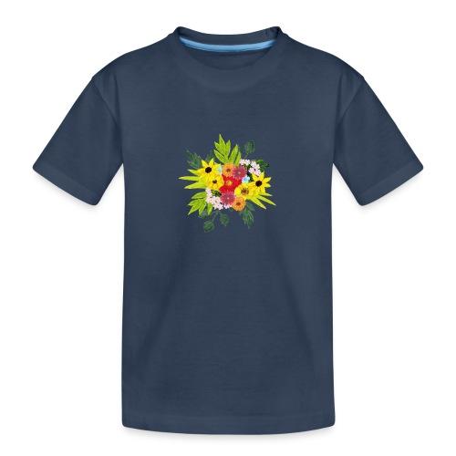 Flower_arragenment - Teenager Premium Organic T-Shirt