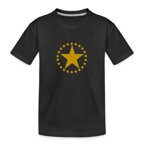 pixknapp png - Ekologisk premium-T-shirt tonåring