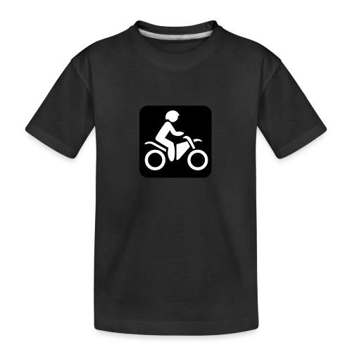motorcycle - Teinien premium luomu-t-paita