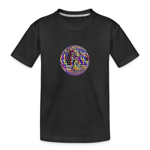 Boule à facettes psychédélique - T-shirt bio Premium Ado