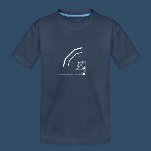 Calling All Broadcasts Satellite Dish - Teenager Premium Organic T-Shirt