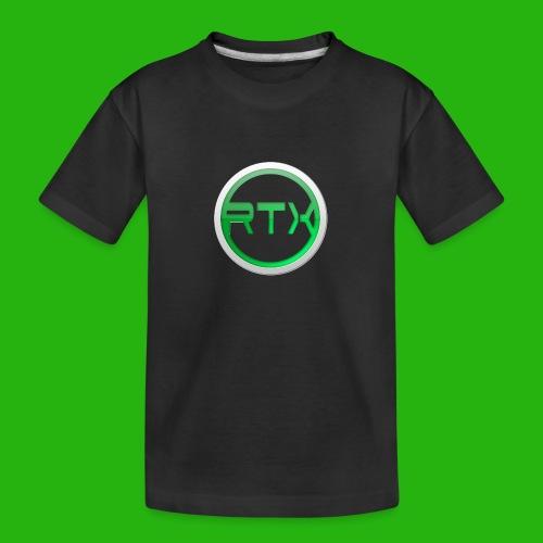 Logo SnapBack - Teenager Premium Organic T-Shirt