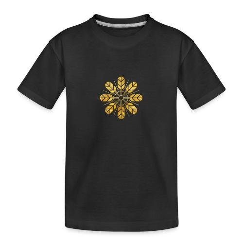 Inoue clan kamon in gold - Teenager Premium Organic T-Shirt