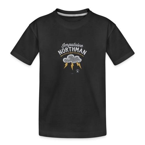 Impulsive Northman - Teenager premium T-shirt økologisk