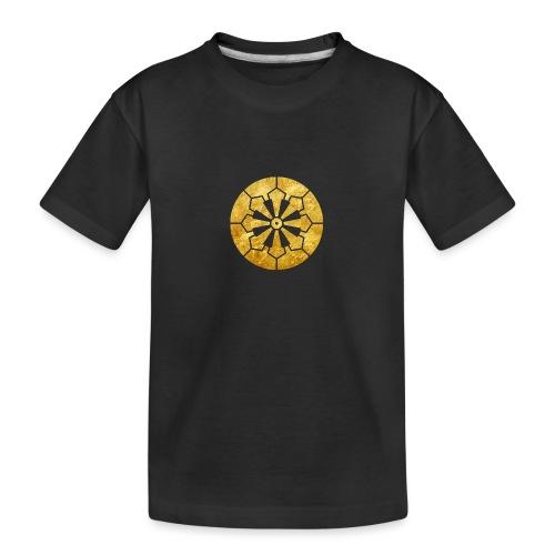 Sanja Matsuri Komagata mon gold - Teenager Premium Organic T-Shirt