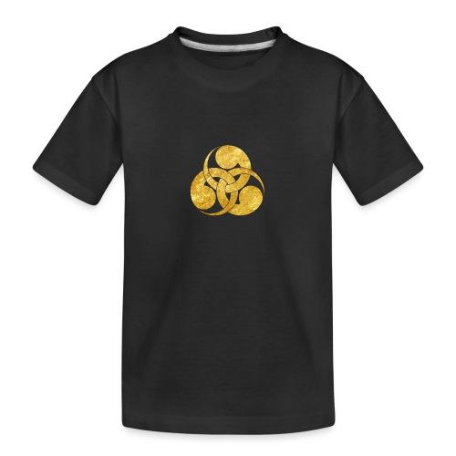 Tadpole Mon Japanese samurai clan - Teenager Premium Organic T-Shirt