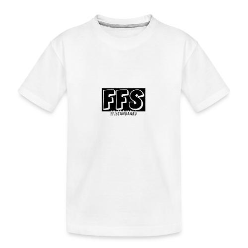 ff Standaard Shirt, Met FFS logo! - Teenager Premium Organic T-Shirt