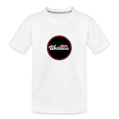 Wellouss Fan T-shirt | Rood - Teenager premium biologisch T-shirt