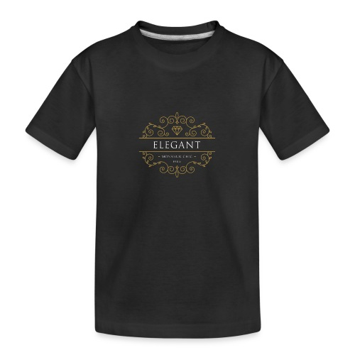 Sweat à capuche ELEGANT - T-shirt bio Premium Ado