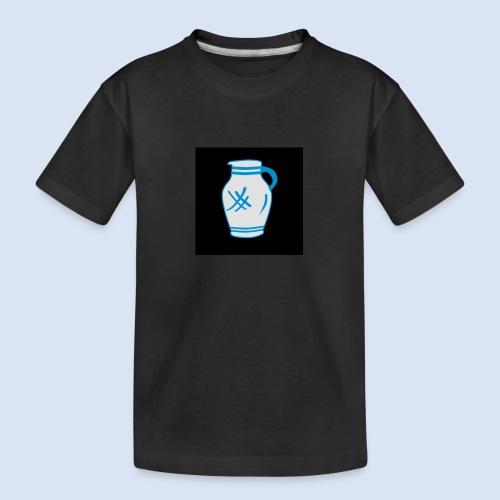 Mein Frankfurt Bembeltown - Teenager Premium Bio T-Shirt