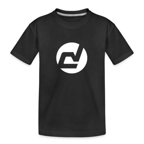logo blanc - T-shirt bio Premium Ado