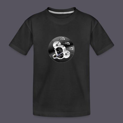 schwarze Schmuck CD - Teenager Premium Bio T-Shirt