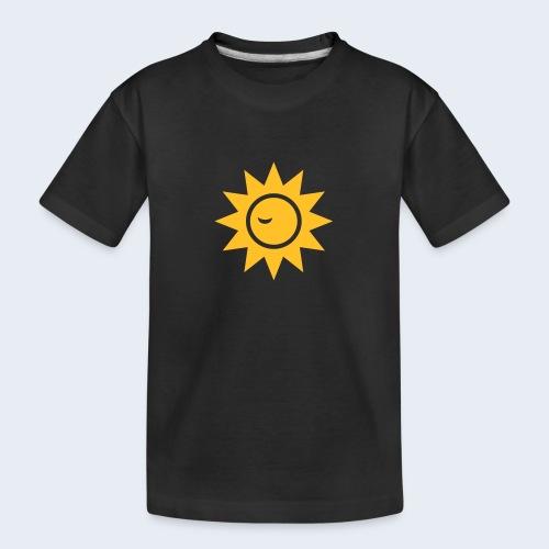 Winky Sun - Teenager premium biologisch T-shirt
