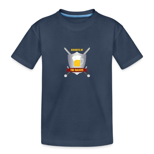 Knights of The Bajers - Teenager premium T-shirt økologisk