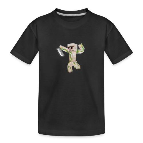 Starka GolemGamingYT - Ekologisk premium-T-shirt tonåring
