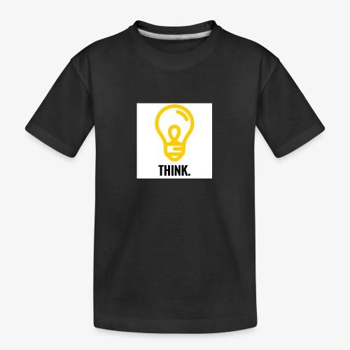 THINK - Maglietta ecologica premium per ragazzi