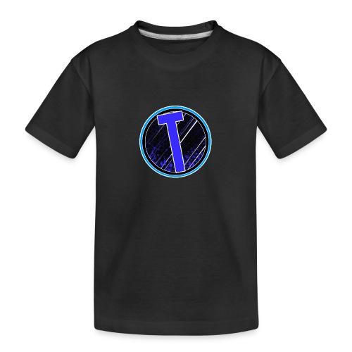 Truxer Old Logo Transparent - Teenager Premium Organic T-Shirt