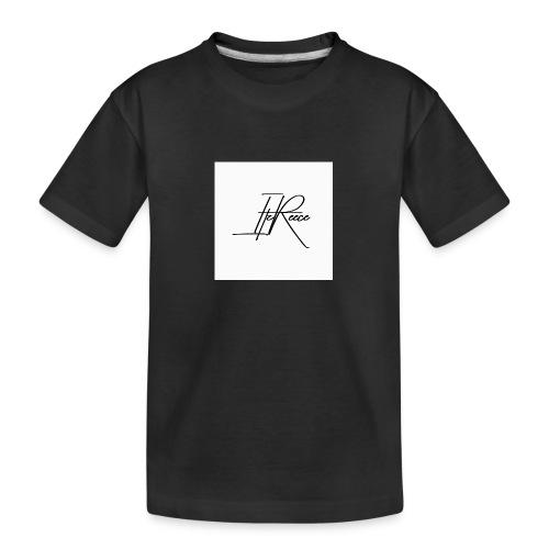 Small logo white bg - Teenager Premium Organic T-Shirt