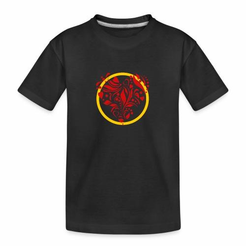 Herzemblem - Teenager Premium Bio T-Shirt