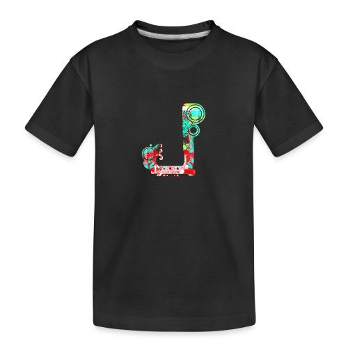 J - Teenager premium biologisch T-shirt