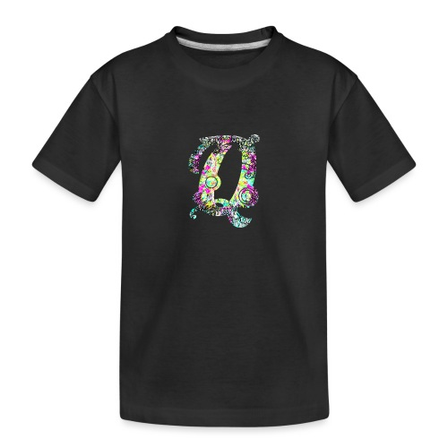 Q - Teenager premium biologisch T-shirt