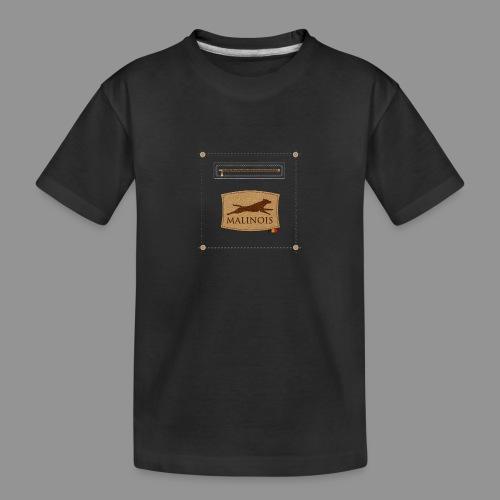 Belgian shepherd Malinois - Teenager Premium Organic T-Shirt