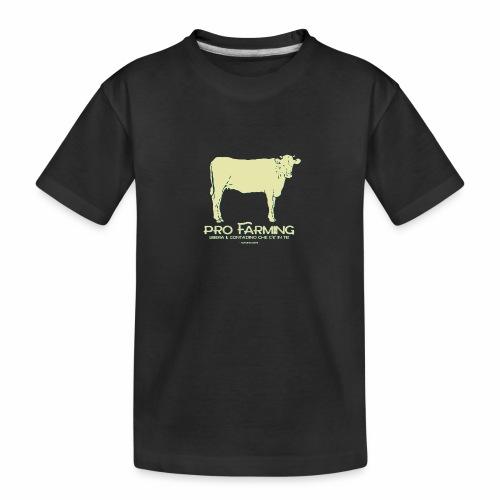 PRO Farming - Maglietta ecologica premium per ragazzi