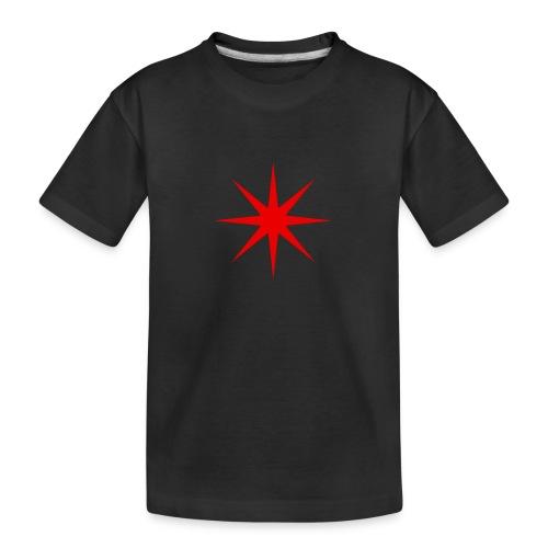 Roter Stern - Teenager Premium Bio T-Shirt