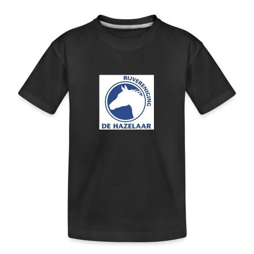 LgHazelaarPantoneReflexBl - Teenager premium biologisch T-shirt