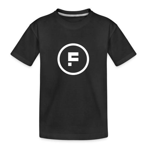 Logo_Rond_3500x3500 - Teenager premium biologisch T-shirt