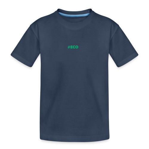 #ECO Blue-Green - Teenager Premium Bio T-Shirt