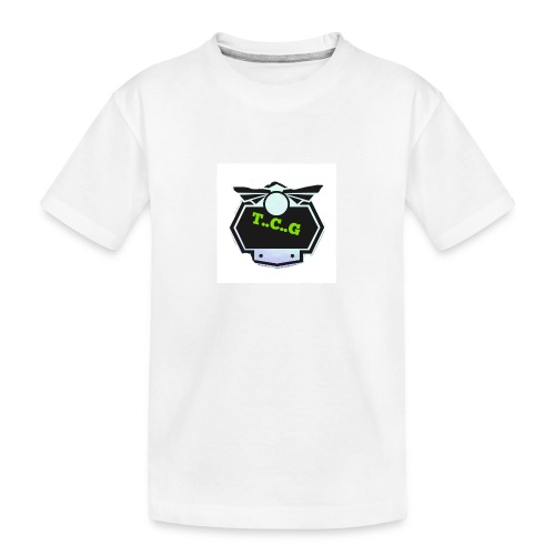Cool gamer logo - Teenager Premium Organic T-Shirt