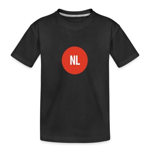 NL logo - Teenager premium biologisch T-shirt