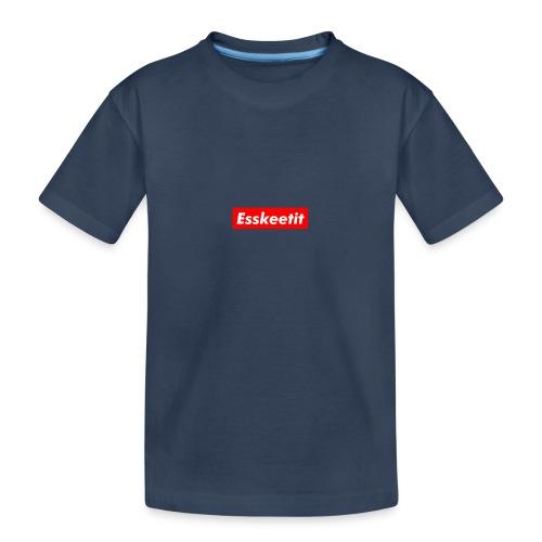 EWC ESKETIT MERCH - Teenager Premium Organic T-Shirt