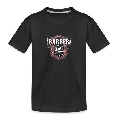 Barber Shop_03 - Maglietta ecologica premium per ragazzi