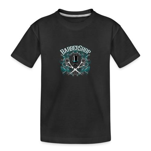 Barber Shop_04 - Maglietta ecologica premium per ragazzi