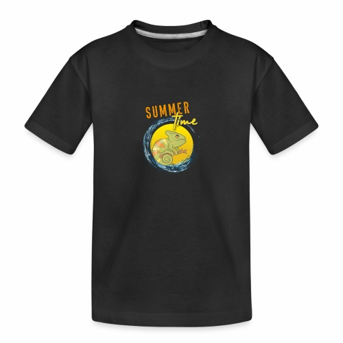 Chamäleon - Teenager Premium Bio T-Shirt