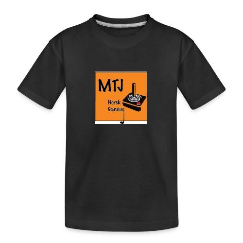 Mtj Logo - Premium økologisk T-skjorte for tenåringer