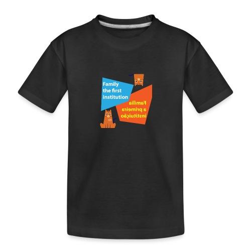 Duna Família - Premium økologisk T-skjorte for tenåringer